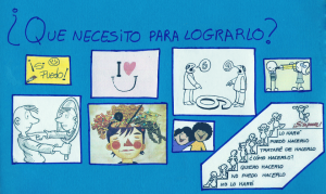Collage procedente de talleres infantil
